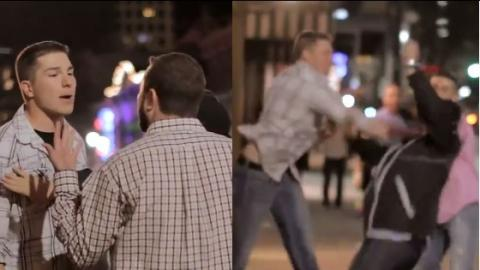 Filmed In HD, This Street Brawl Had A Shocking Ending