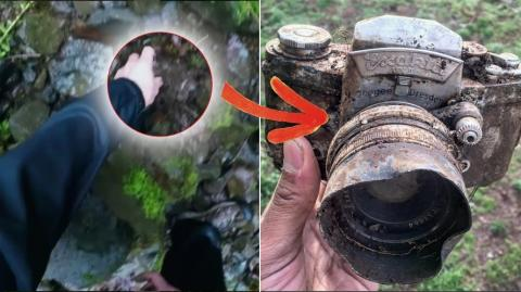 They Were Hiking In The Woods When They Made This Incredible Discovery