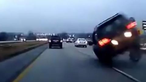 This Terrifying Footage Proves Why You Should Never Tailgate