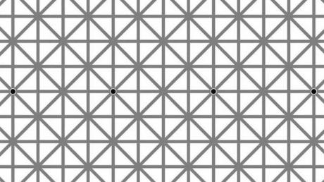 How Many Black Dots Do You See In This Picture? You're Almost Certainly Wrong!