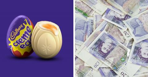 You Could Earn £45 An Hour As A Cadbury's White Creme Egg Hunter