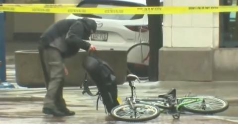 Impatient Cyclist Decides To Handle Bomb Threat Himself, Police Didn't Like It To Say The Least