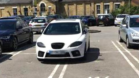 Man Takes A Lashing Online After Trying To Justify Parking In 4 Spaces