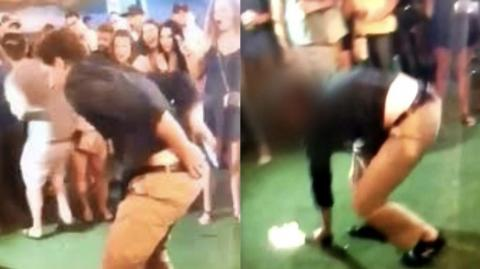 FBI Agent Shoots Bystander In A Nightclub Whilst Doing A Backflip
