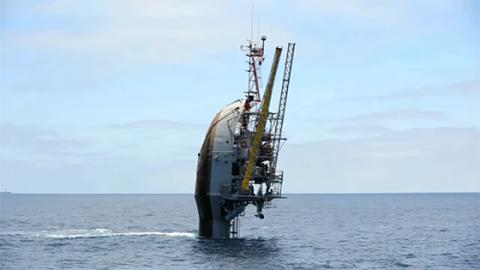 No, This Boat Isn't Capsizing... What It's Really Doing Is Incredible