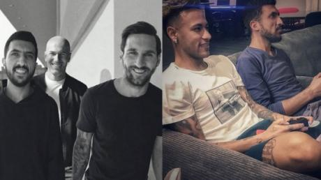 Have You Seen The Man That's Been In Photos With Messi, Neymar And Ronaldo? Here's Who He Really Is