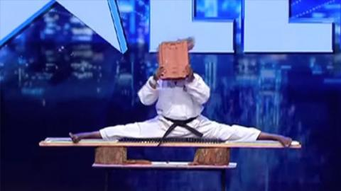 This contestant KO'd himself live on Sri Lanka's Got Talent