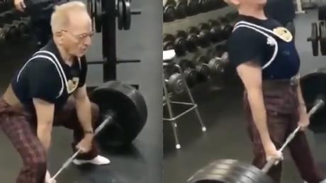 This 89-Year-Old Man Can Lift 184 Kilos Effortlessly