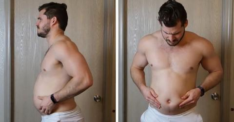 This Man's Time Lapse Video Shows His Astonishing Transformation From Fat To Fit