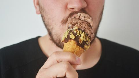 Here's Why You Should Absolutely Avoid That Chocolate Bit At The Bottom Of The Ice Cream Cone