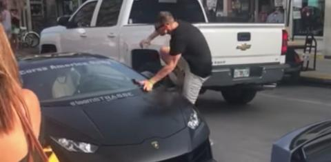 He Tried To Show Off His Car... But Things Didn't Go To Plan