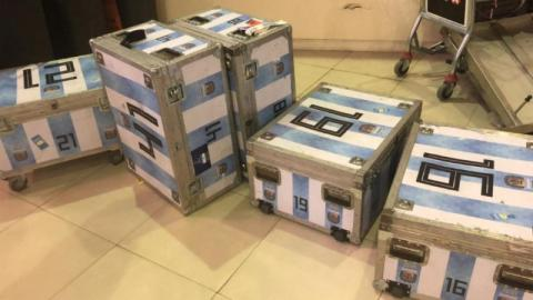 Customs Officers Make A Shocking Discovery In The Argentinian Football Team's Luggage