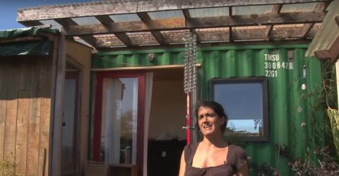 This Woman Lives In A Shipping Container... But What's Inside Will Take Your Breath Away