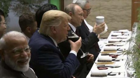 This Is The Bizarre Truth Behind Vladimir Putin's Thermos At The G20 Dinner