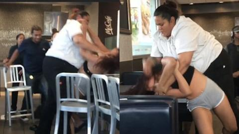 A McDonald's Employee Got Into An Insane Fight With A Customer Over Soda