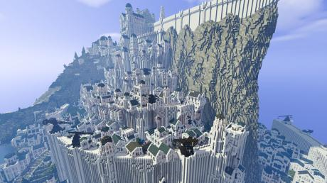 These Gamers Spent Nine Years Building Middle Earth On Minecraft