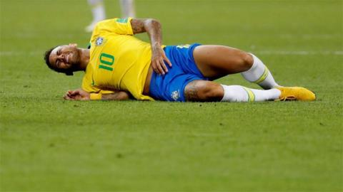 Neymar Takes On 'The Neymar Challenge' And It's Hilarious!