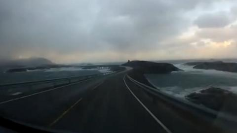This Norwegian Road Is The Most Dangerous In The World