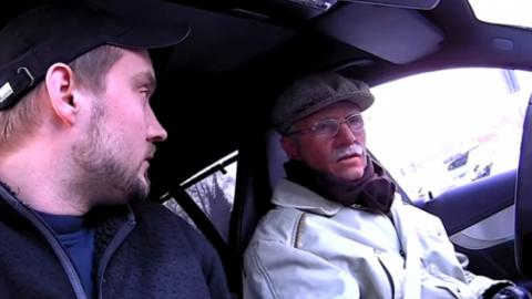He Took This Old Man For A Ride... But He Never Expected What Happened Next