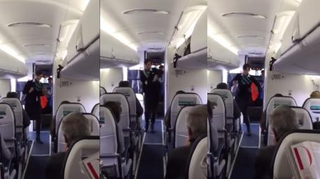 This Flight Attendant Has Been Dubbed 'The Coolest In The World' After Video Of Her Goes Viral