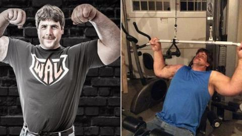 This Is The Real Life Popeye - And He's Incredible At Arm Wrestling