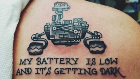 surviving mars rover empty battery - photo #36