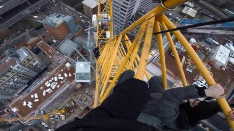They Scaled A Crane And Ended Up Sparking A Major Emergency