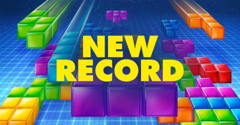 Tetris: A Streamer Accidentally Breaks A Tetris World Record Live On Twitch