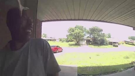 He Rang His Friend's Doorbell And Was Greeted By A Snake To The Face