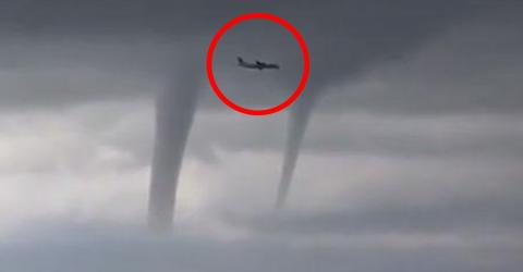 This Russian Pilot Feared For His Life When He Came Up Against THREE Tornadoes