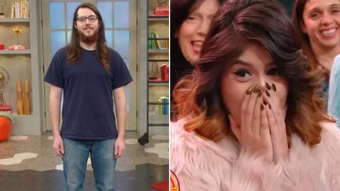 This Man Totally Transformed His Look And His Girlfriend Can't Believe Her Eyes