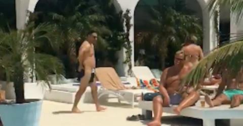 Watch These Lads Pull Off Amazing Dissolvable Swimming Shorts Prank On Their Mate