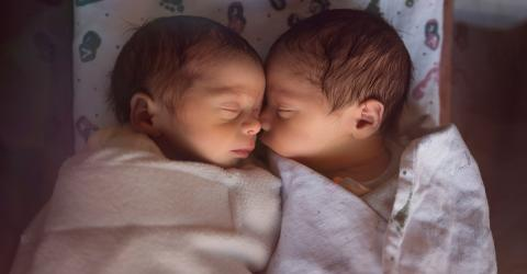 For The Second Time In History, Identical Twins Of Different Sexes Have Been Born