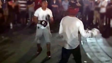 This Guy Took Up An Ex-Pro Boxer's Challenge On The Street - And Seriously Regretted It