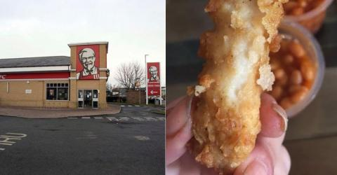 Couple Make Horrific Discovery At KFC That Will Put You Off For Life