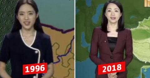 This Chinese Weather Girl Hasn't Aged In 22 Years