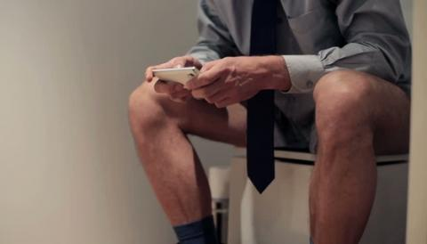 Men Spends 7 Hours Per Year Looking For Peace And Quiet In The Toilet