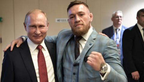 UFC's Conor McGregor Full Of Praise For Controversial President Vladimir Putin