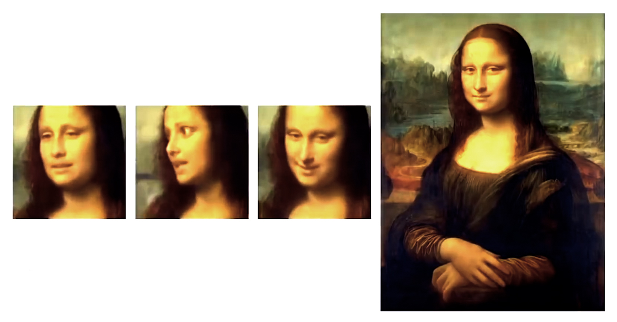 Incredible Artificial Intelligence Brings Da Vinci's Mona Lisa To Lif…
