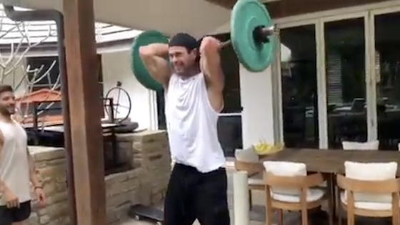 Chris Hemsworth Reveals His Extreme New Workout!