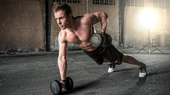 How To Smash A Complete Workout Using Only Two Dumbbells