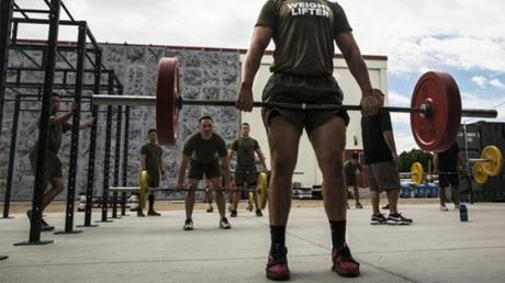 This Military Style Workout Combines Legs And Cardio For Maximum Results