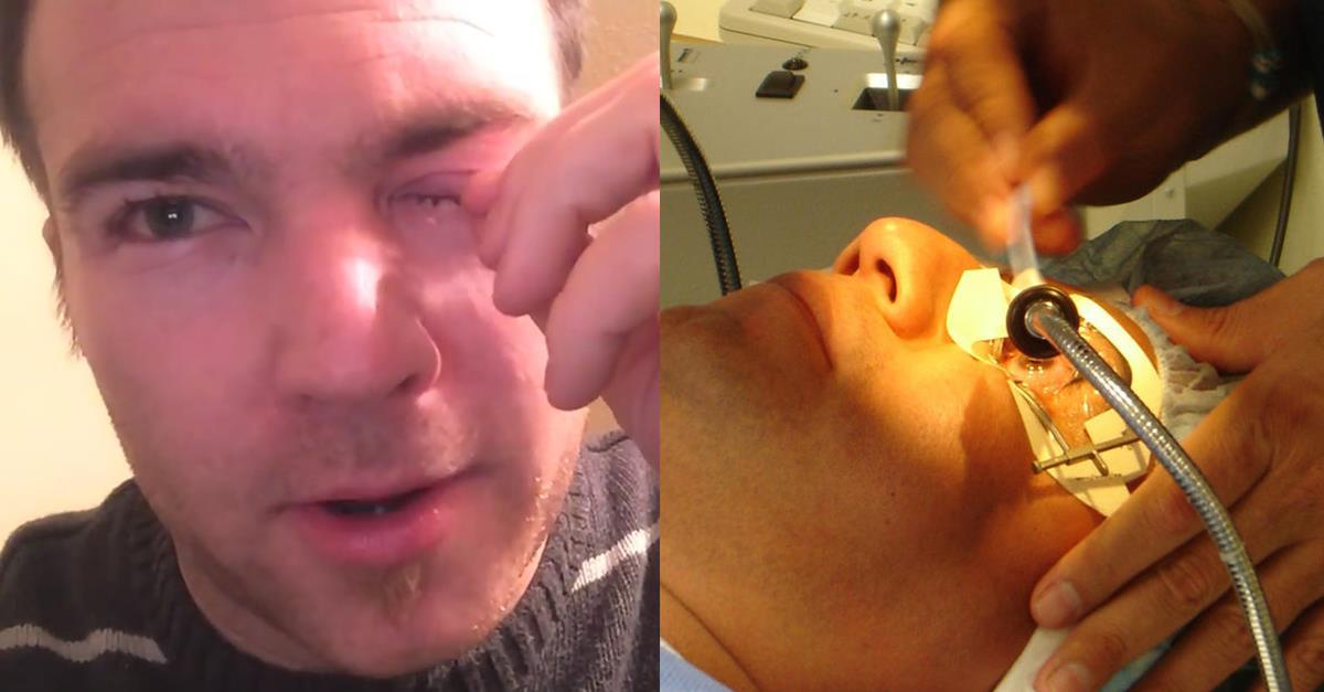 Doctor Discovers Something Horrible Hiding Behind This Man's Eye…