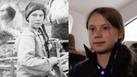 Is Greta Thunberg A Time Traveller? This Photo From 1898 Might Have The Answer