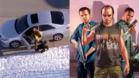 Man tries to re-enact GTA in real life and gets 160 years in prison