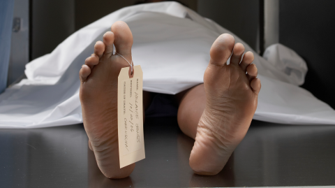 74-year-old man wakes up in a freezer 20 hours after being declared dead