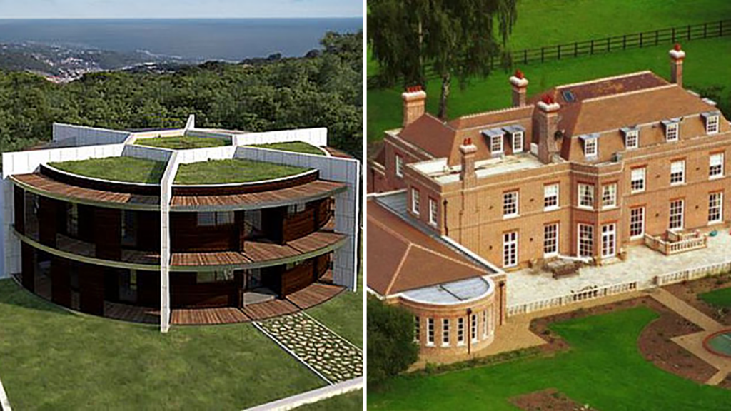 The 10 craziest and most expensive footballers' homes