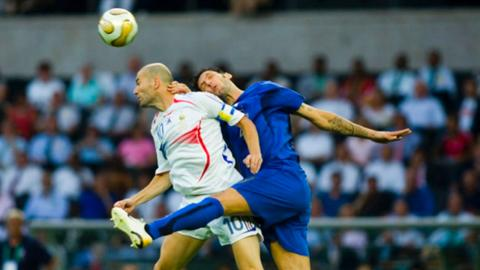 Materazzi speaks out about Zidane's headbutt 15 years later