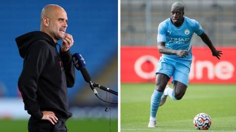 Benjamin Mendy: Pep Guardiola remains silent on Mendy affair