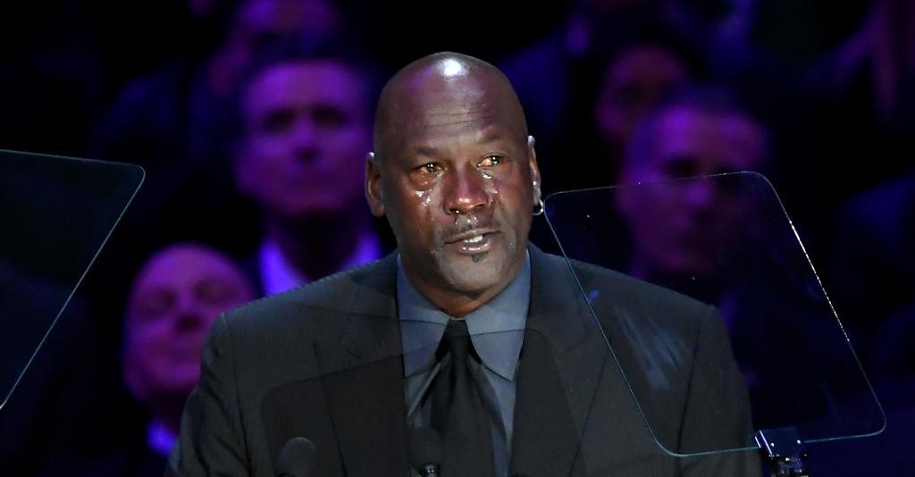 Michael Jordan Blames Kobe Bryant For Being Responsible For Yet Another 'Crying MJ Meme'